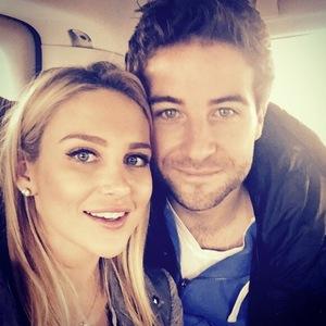 Stephanie Pratt and Josh Shepherd take a selfie, Instagram 26 March