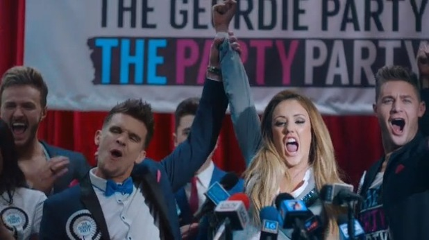 Charlotte Crosby and Gary Beadle in Geordie Shore's new trailer for series ten, MTV 25 March
