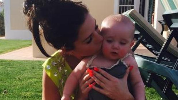 Katie Price shares cute picture with daughter Bunny, 29 March 2015