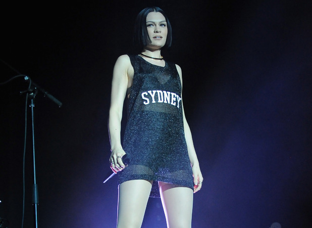 Jessie J performs in Sydney, Australia 14 March