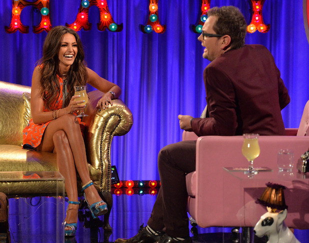 Michelle Keegan appears on Alan Carr: Chatty Man - 27 March 2015.