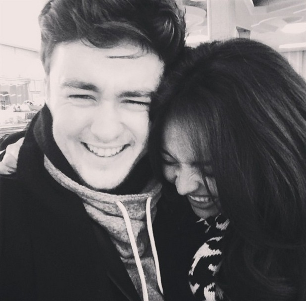 Jesy Nelson shares new loved-up selfie with Jake Roche, Instagram 20 March