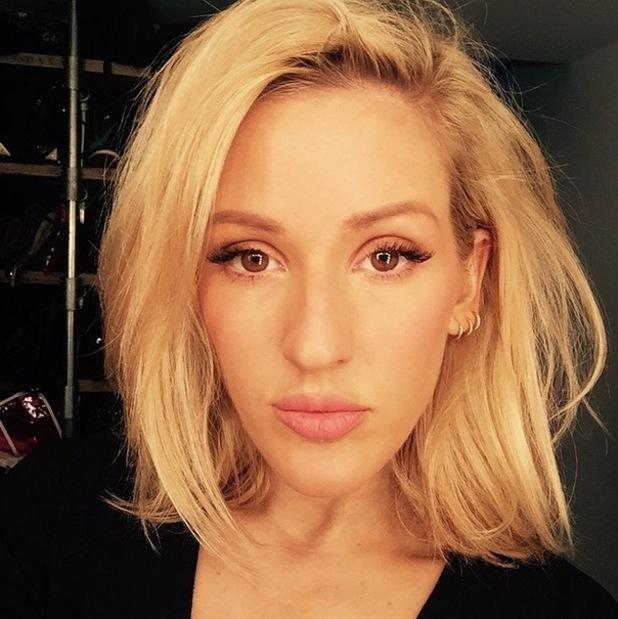 Ellie Goulding shows off new bob cut on Instagram 25 March
