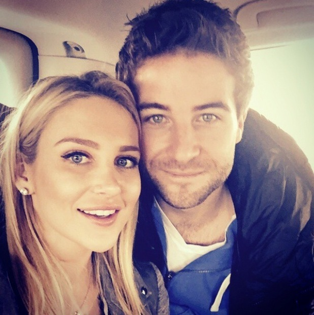 Stephanie Pratt and Josh Shepherd take a selfie, Instagram 26 March