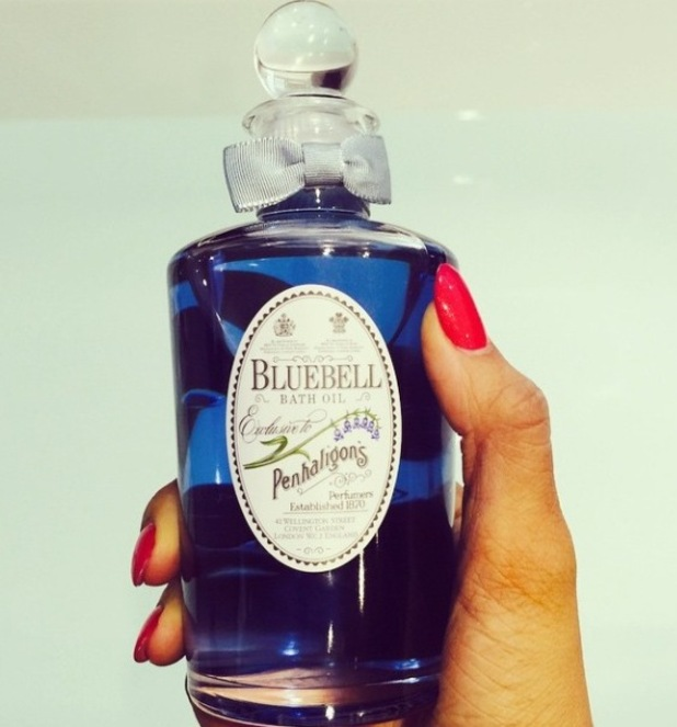Rochelles Humes' Bluebell bath oil, 25/3/15
