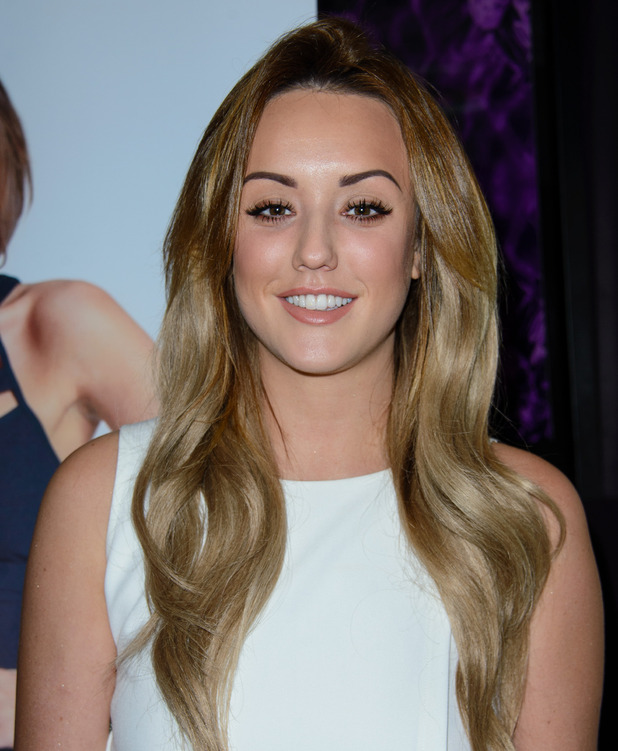 Charlotte Crosby, launch for InTheStyle.com Photocall at Soho Sanctum Hotel, 28 January 2015