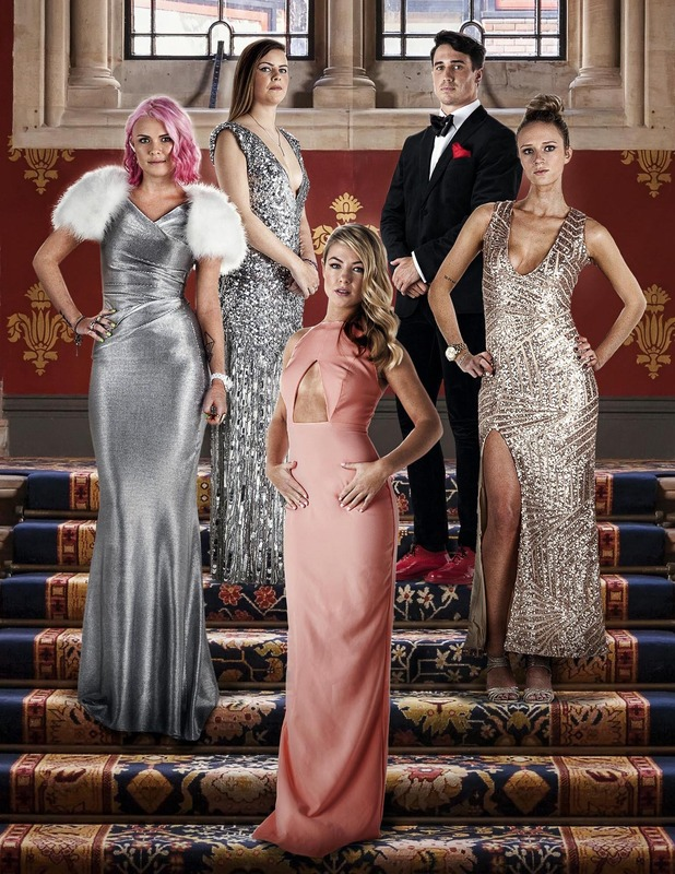 New Made In Chelsea cast members: Emily Weller, Jess Woodley, Fleur Irving, Millie Wilkinson and Josh Patterson - 23 March 2015.