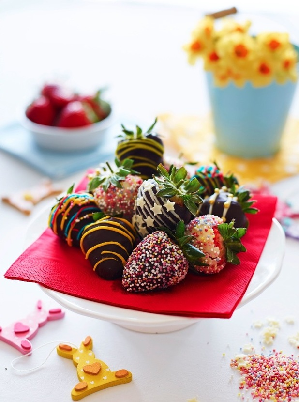 chocolate dipped viva strawberries
