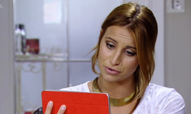 TOWIE episode aired 22 March 2015: Chloe talks to Ferne from Dubai