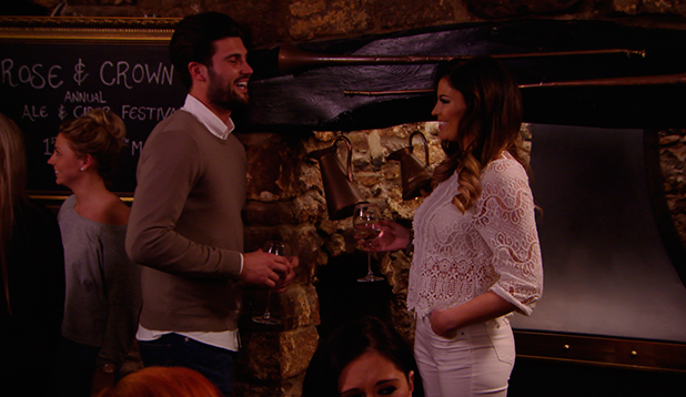 TOWIE episode to air 29 March 2015: Jess and Dan