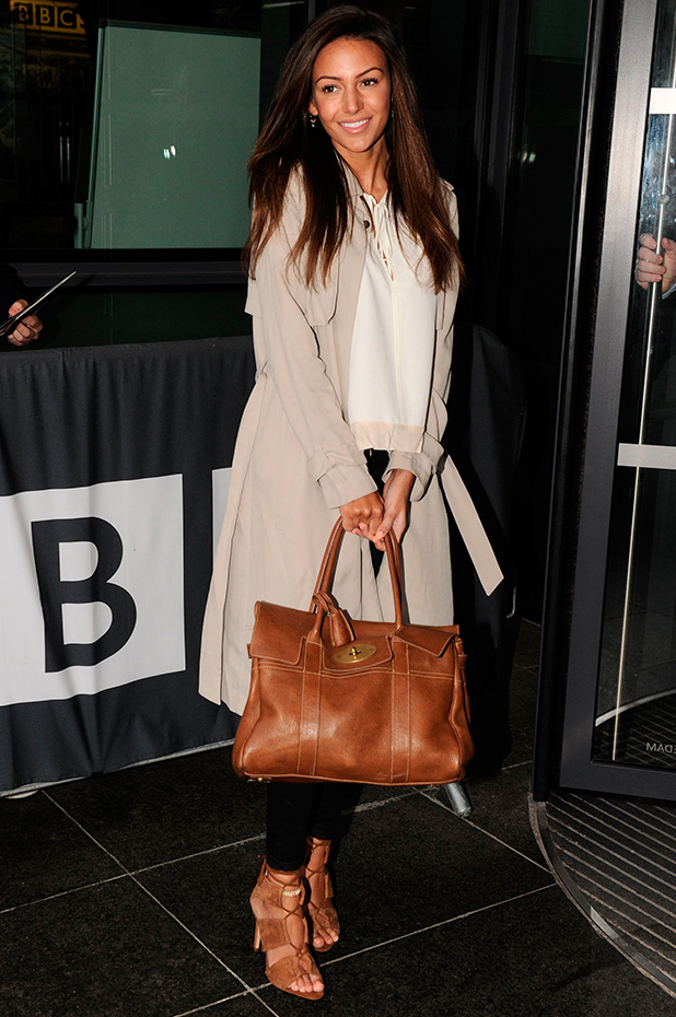 Michelle Keegan out and about, Manchester, Britain - 23 Mar 2015