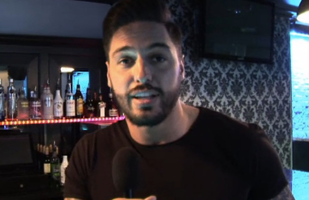 Mario Falcone talks to TOWIE website, 26 March 2015