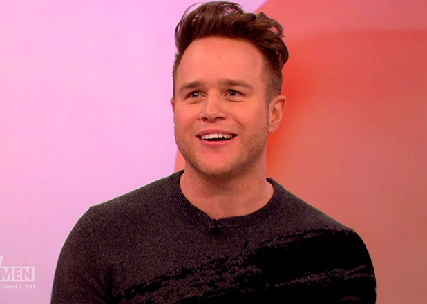 Olly Murs promoting his latest album, 'Never Been Better', on 'Loose Women'. Broadcast on ITV1 HD. 26 March 2015