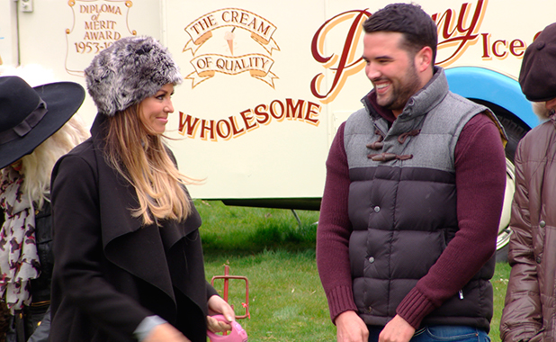 TOWIE episode to air 25 March 2015: Jess and Ricky enter their dogs in dog show
