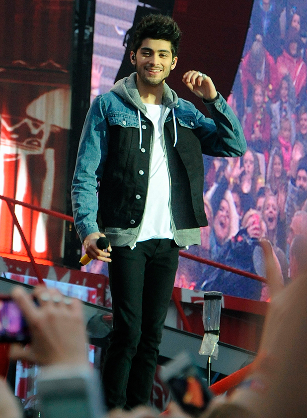 Zayn Malik, One Direction kick off their 'Where We Are Tour' at the Stadium of Light in Sunderland, 2014