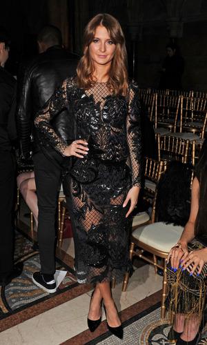 Millie Macintosh rocks it in Julien Macdonald dress (15 February 2014)