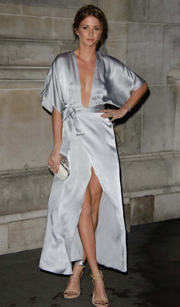 Millie Mackintosh at Private view of the Alexander McQueen: Savage Beauty exhibition at the Victoria and Albert Museum, 30/3/15