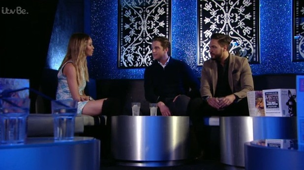 TOWIE's Lauren Pope reveals she and Lewis Bloor have made up - 1 April 2015.
