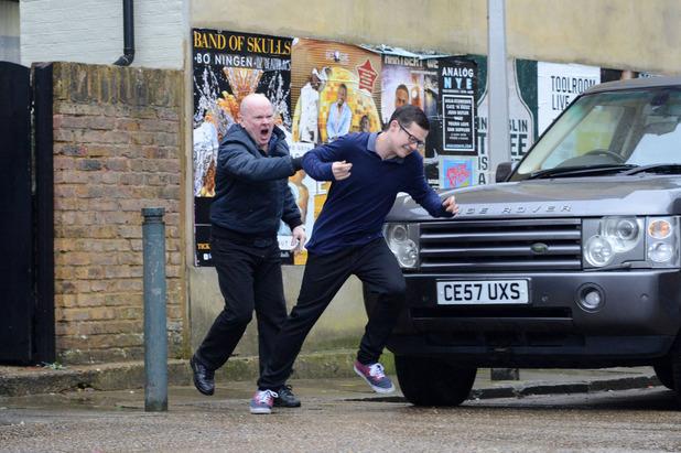 EastEnders, Phil attacks Ben, Tue 31 Mar