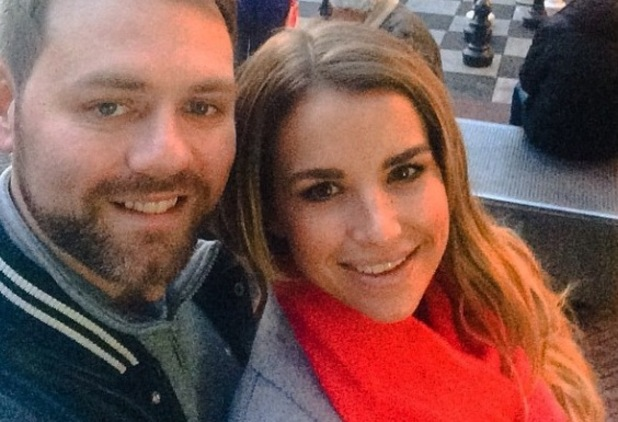 Brian McFadden and Vogue Williams Instagram Snap in Amsterdam December 2014
