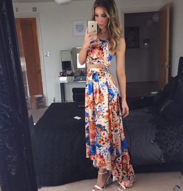 Lauren Pope's Instagram shot, 29/3/15