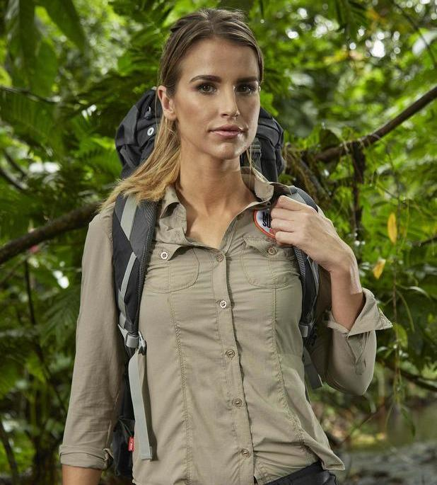 Vogue Williams takes part in Bear Grylls' Mission Survive.