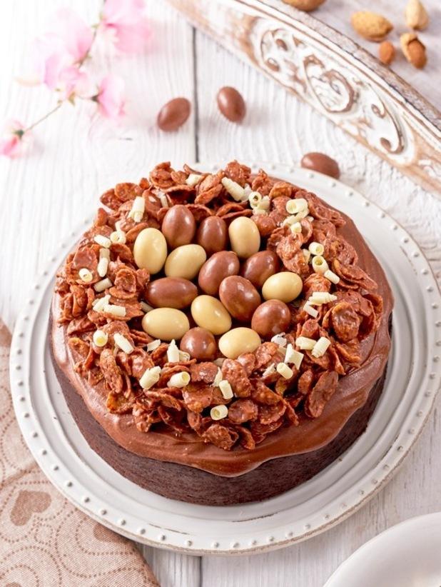 Indulgent Easter chocolate cake