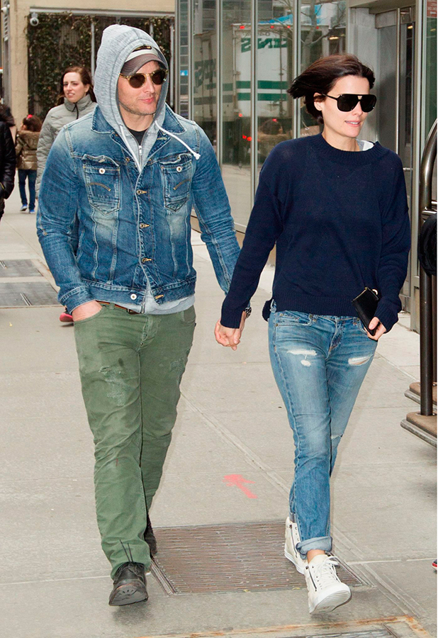 Peter Facinelli and Jaimie Alexander out and about, New York, America - 30 Mar 2015