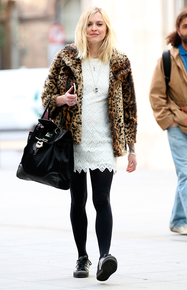 Fearne Cotton out and about, London, Britian - 31 Mar 2015