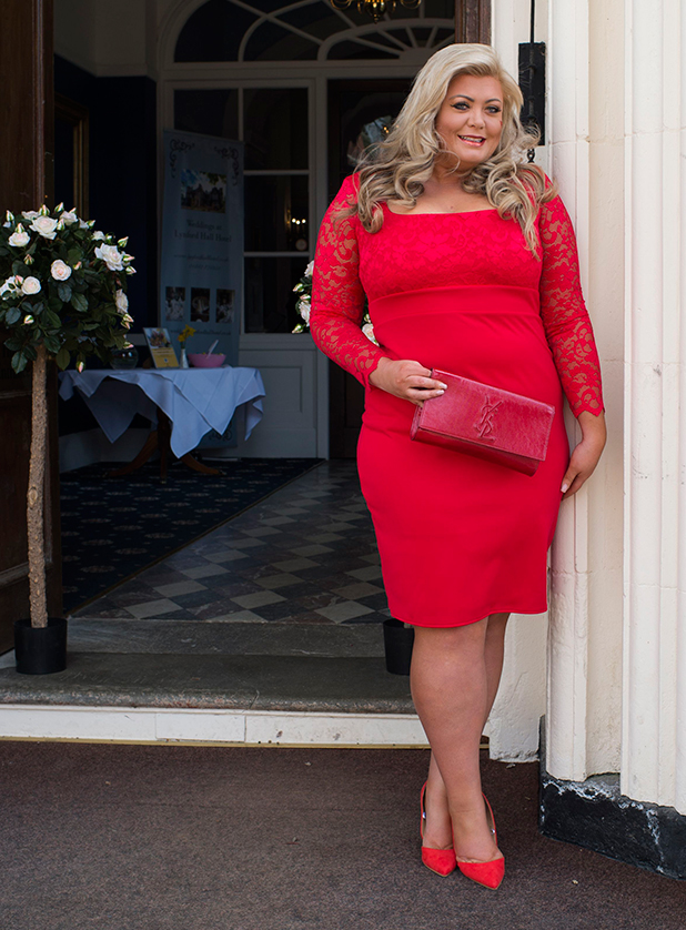 The Only Way is Essex' cast filming, Britain - 01 Apr 2015 Gemma Collins