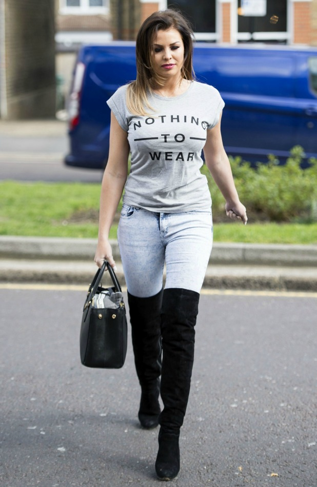 'The Only Way is Essex' cast filming, Britain - 31 Mar 2015 Jessica Wright