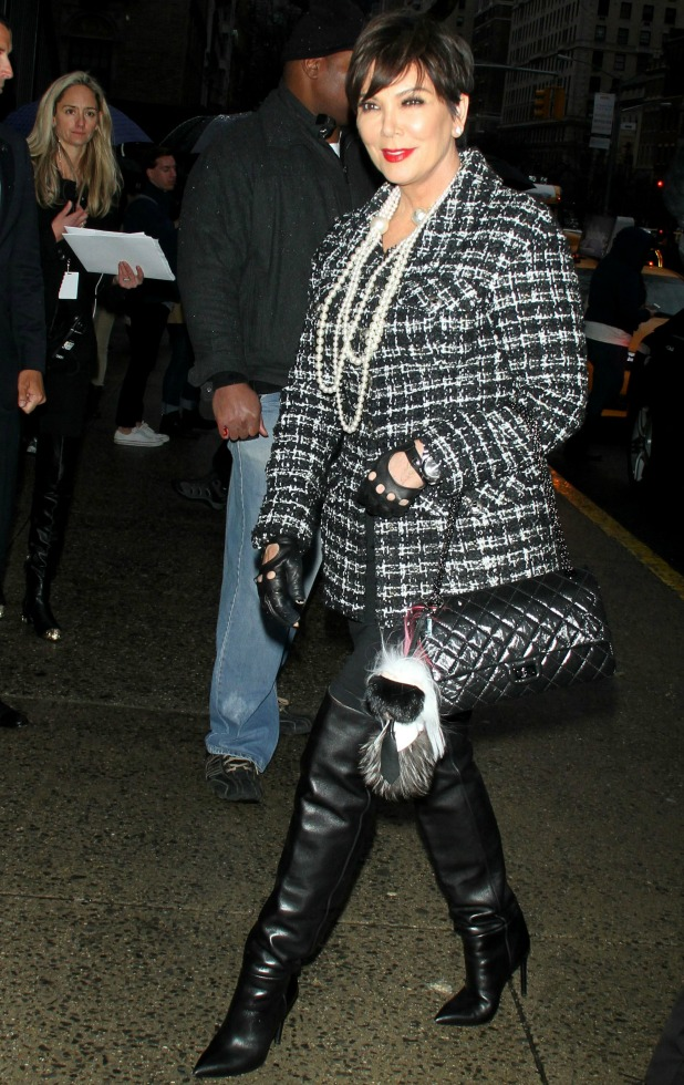 Chanel Paris-Salzburg Show, New York, America - 31 Mar 2015 Kris Jenner