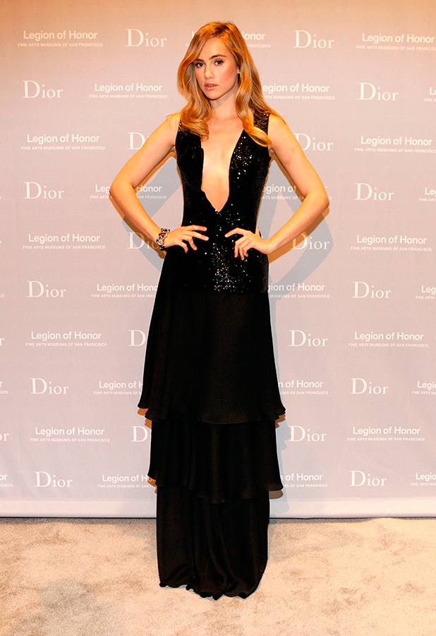 Suki Waterhouse attends the 2015 Mid-Winter Gala presented by Dior at Legion Of Honor on March 27, 2015 in San Francisco, California.