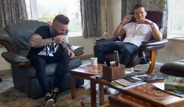 Aaron Chalmers and Gary Beadle, Geordie Shore Series 10, Episode 1, MTV 7 April