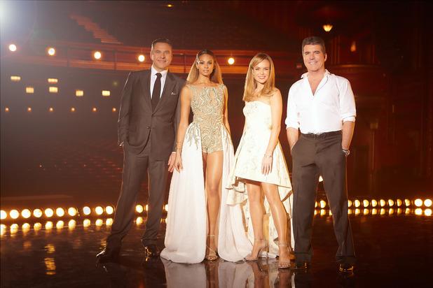 Britain's Got Talent, David Walliams, Alesha Dixon, Amanda Holden, Simon Cowell, Sat 11 Apr