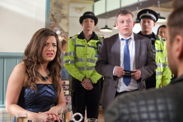 Hollyoaks, Lindsey and Freddie arrested, Wed 8 Apr