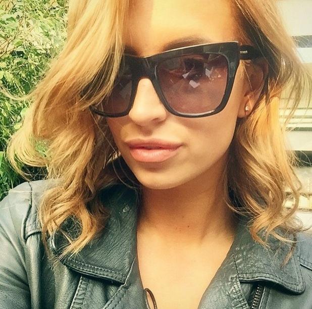 Ferne McCann takes sunny selfie, Instagram 9 April