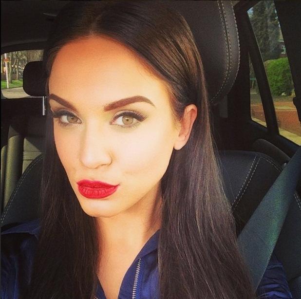 Vicky Pattison shares latest make-up look on Instagram 9 April