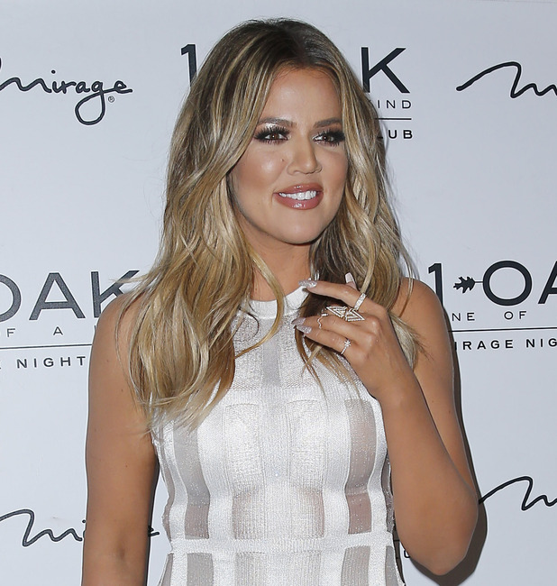 Khloe Kardashian Special Appearance at 1 Oak Nightclub Inside The Mirage Hotel and Casino Las Vegas, 21 March 2015