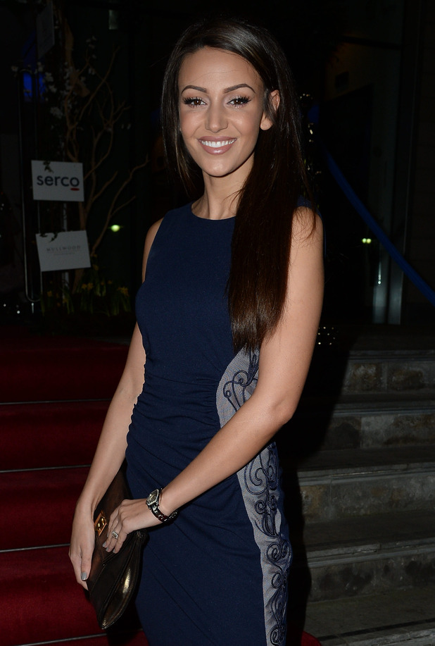 Michelle Keegan at the Mirror Ball at The Lowry Hotel - Arrivals - 6 March 2015.