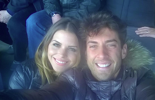 TOWIE's Arg and Chloe Lewis support Jake Hall as he plays for Boston United, 6 April 2015