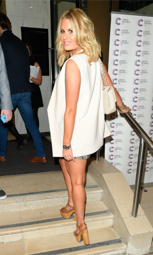 James Ingham's Jog on to Cancer Event, London, Britain - 09 Apr 2015 Danielle Armstrong