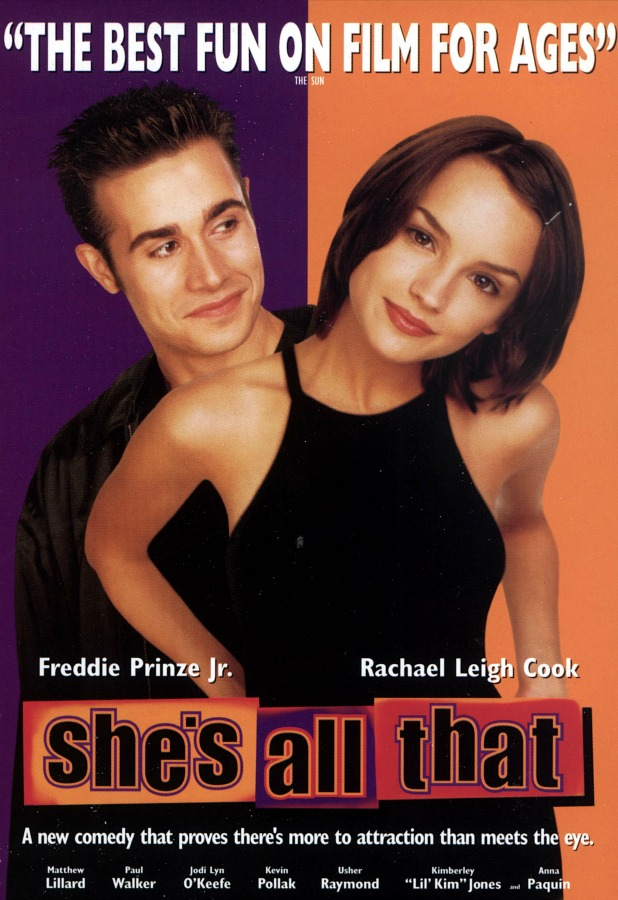 She's All That movie poster, 1999