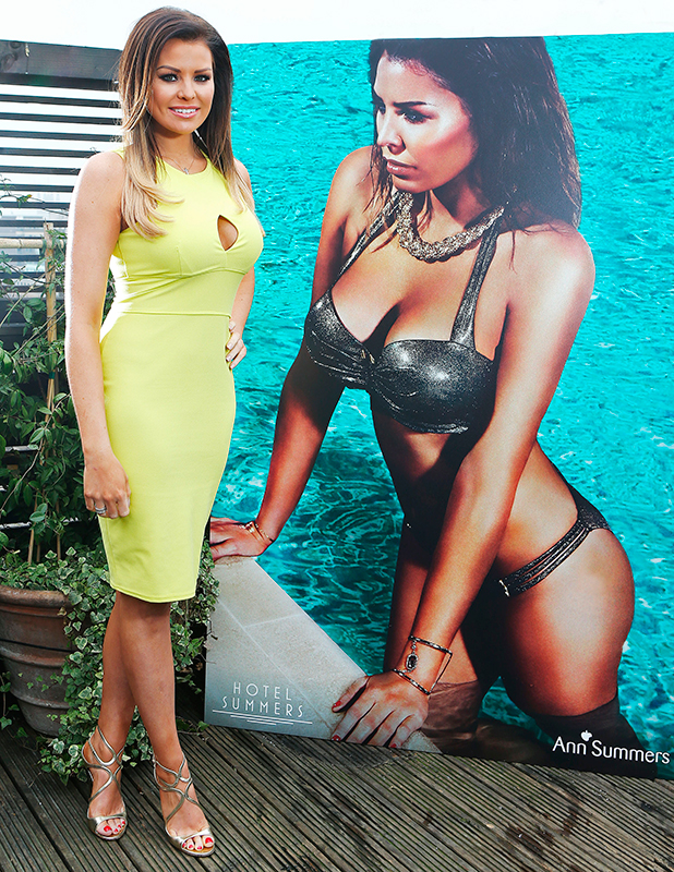 TOWIE Star, Jessica Wright is announced as the face and body of Ann Summers' sexiest new swimwear collection – Hotel Summers. 7 Apr 2015