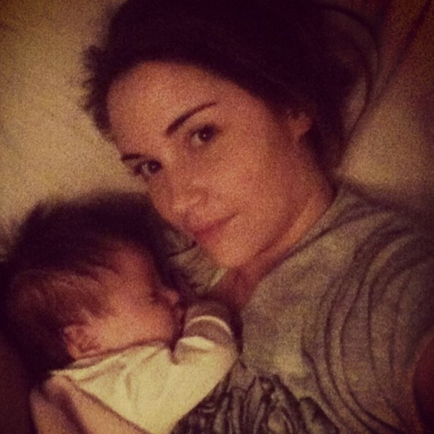 Jacqueline Jossa shares pictures of baby Ella, 7 April 2015
