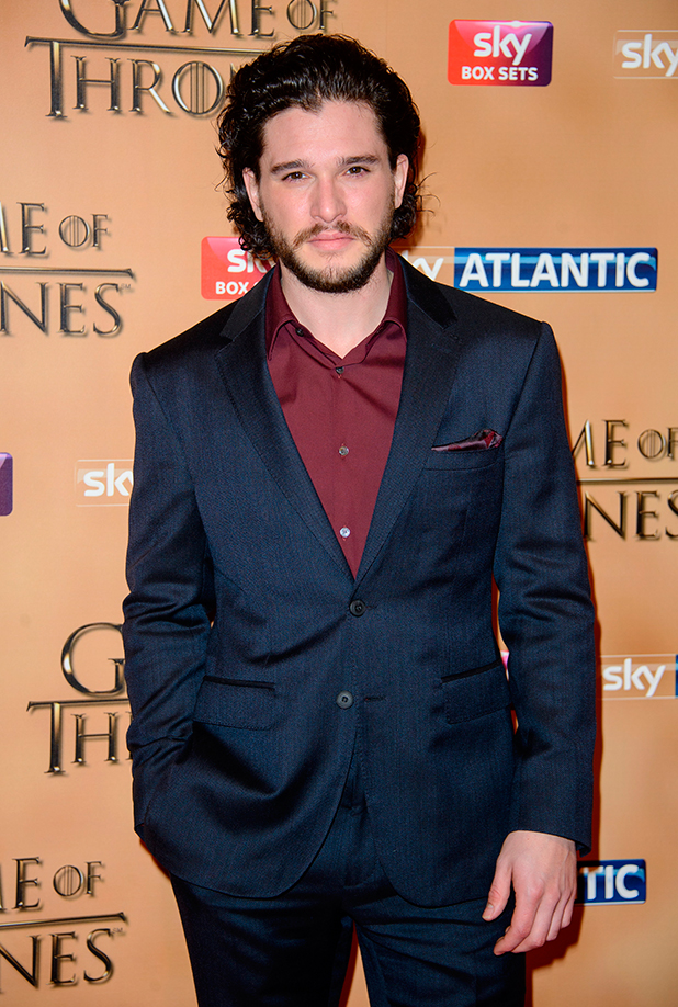 Kit Harington at world premiere of 'Game of Thrones' Season 5 held at the Tower of London, 18 March 2015