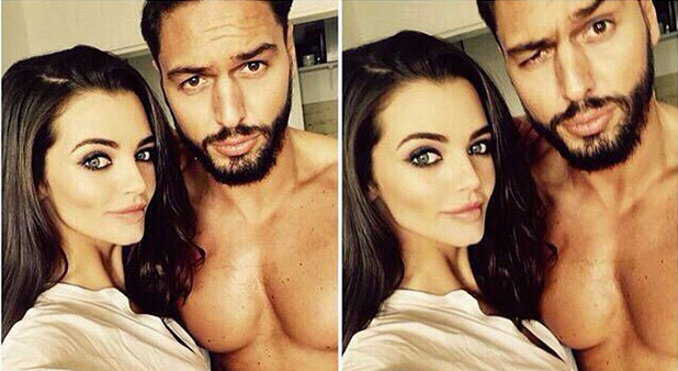 Mario Falcone and Emma McVey in Black Label Grooming campaign, sneak peek, 6 April 2015