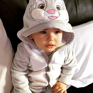 Dan Osborne shares pictures of his son Teddy, 6 April 2015