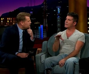 Simon Cowell on The Late Late Show with James Corden 17 April