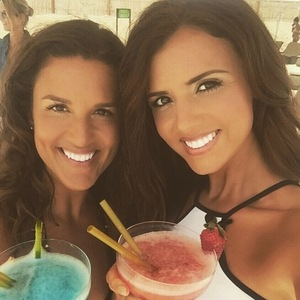 Lucy Mecklenburgh joins personal trainer on holiday in Dubai, Instagram 13 April